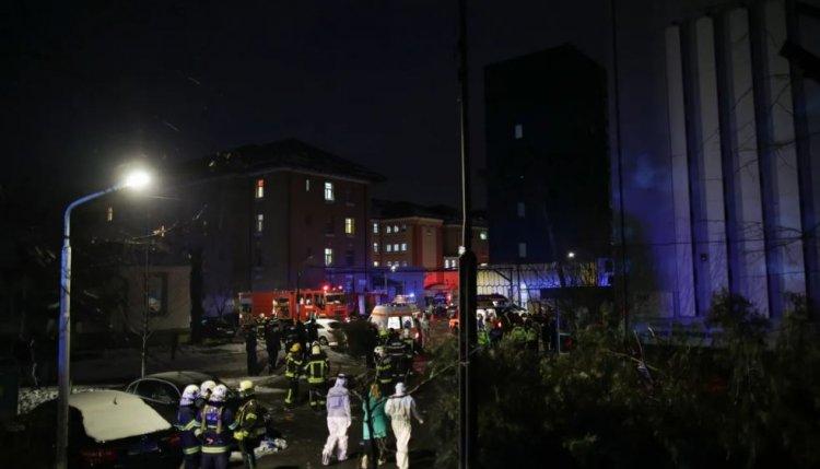 Incendiu la Spitalul Marius Nasta, în secția mobilă ATI