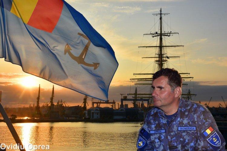 Ovidiu Oprea prezintă expoziția Flota Maritimă a României văzută prin ochii fotografului militar