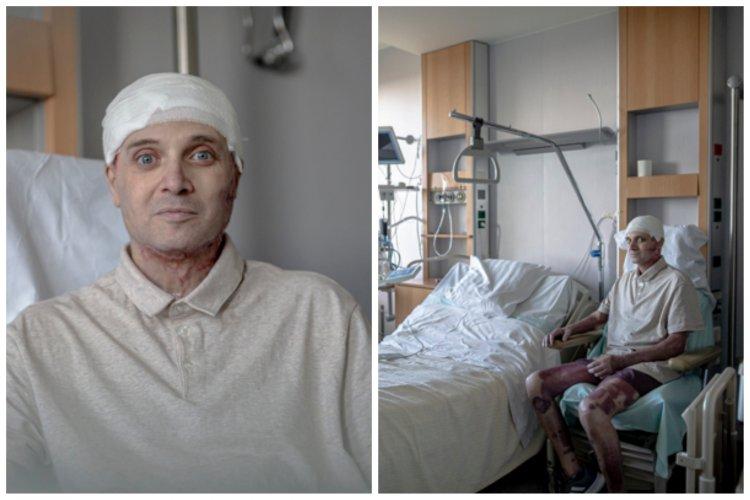 Imagini noi cu medicul erou Cătălin Denciu: Astăzi pot să merg pe bicicletă
