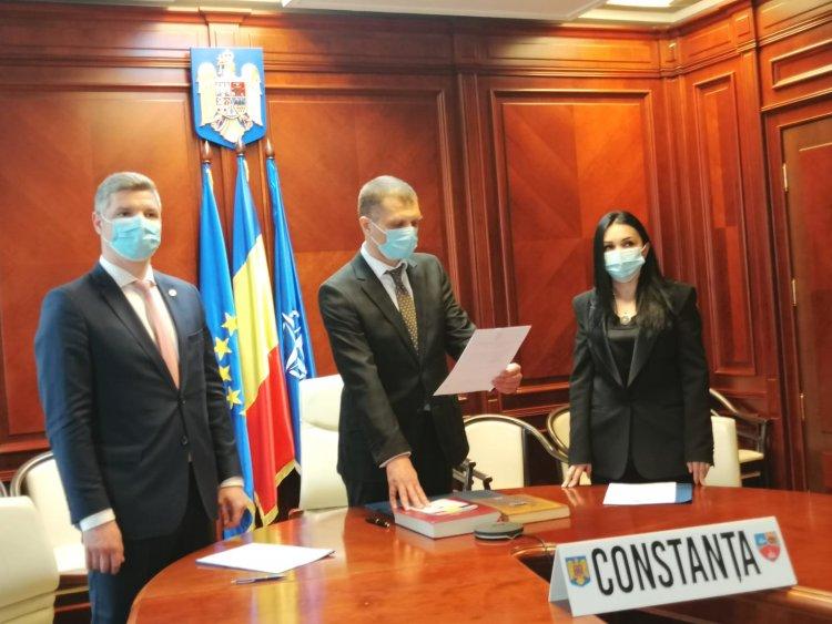 Noua conducere a Prefecturii Constanța a depus jurământul