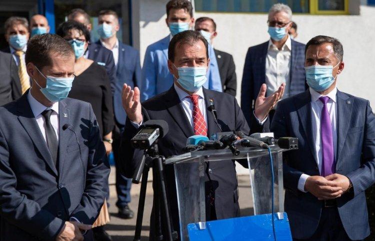 PNL Vrancea îl susține pe Ludovic Orban pentru un nou mandat de președinte al partidului