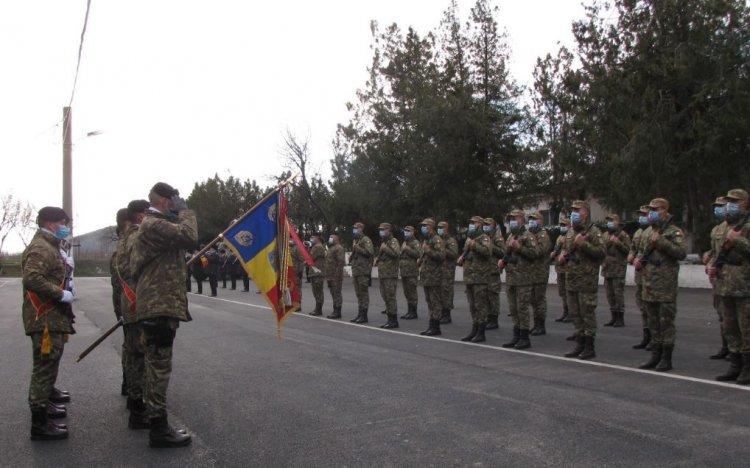 26 de infanteriști marini au depus jurământul de credință față de Patrie