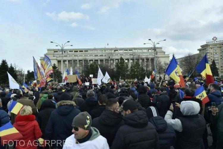 Jandarmeria Capitalei: Organizatorii manifestaţiilor din București vor fi sancţionaţi