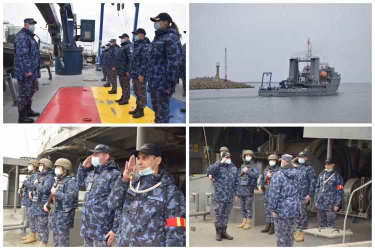 Forțele Navale Române angrenate în misiuni de luptă contra minelor în Marea Ionică