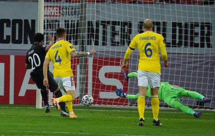 România, învinsă de Germania cu 1-0, în preliminariile CM 2022. Florin Niță a fost eroul meciului
