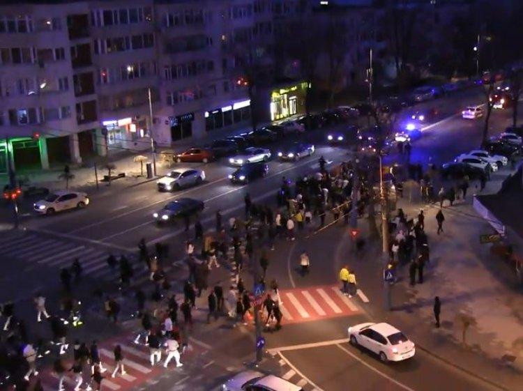 Peste 100 amenzi aplicate de jandarmii constănțeni în urma protestului de duminică împotriva restricțiilor