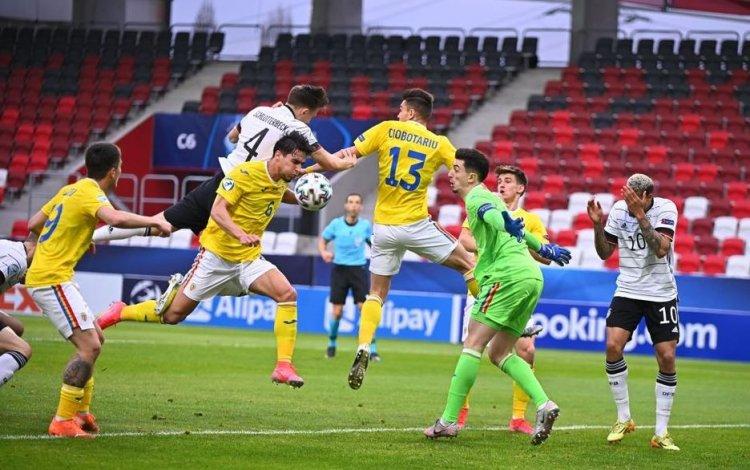 România a părăsit cu fruntea sus competiţia de la Euro U21, după 0-0 cu Germania