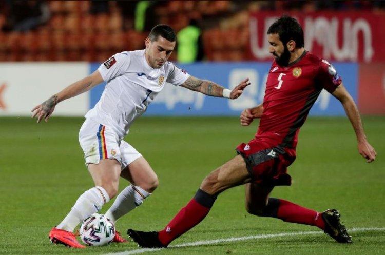 România învinsă de Armenia cu 3-2, în preliminariile CM 2022