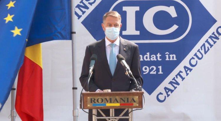 Iohannis: Institutul Cantacuzino rămâne un înalt reper al cercetării medicale românești