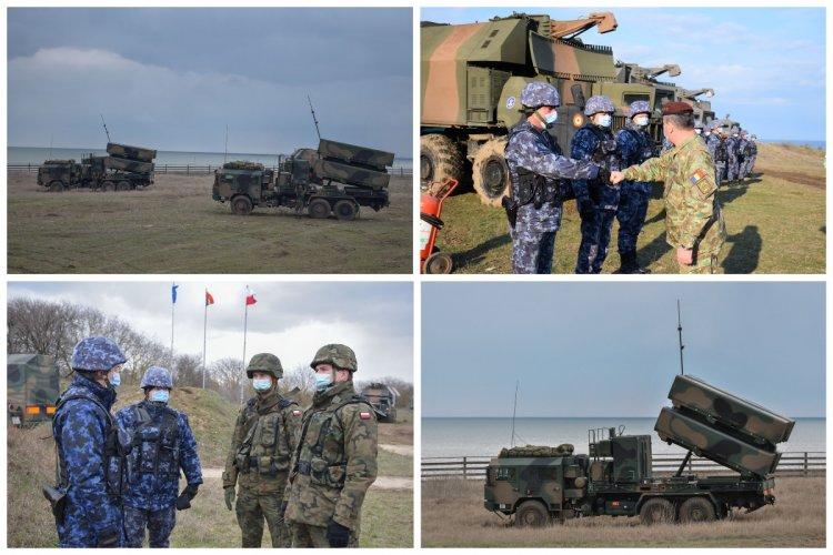 Militarii Forțelor Navale Române s-au familiarizat cu rachetele NSM în cadrul Sea Shield 21
