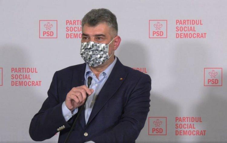 Ciolacu: Liberalizați exportul de măști chirurgicale! Sprijiniți capitalul românesc!