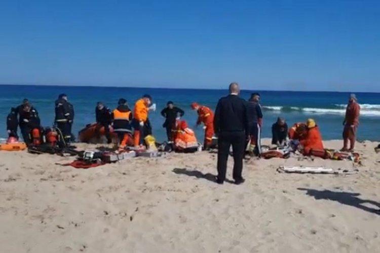 Doi scafandri care supravegheau lucrările de nisipare a plajei, în Eforie Nord, au murit înecați