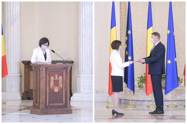 Ioana Mihăilă, noul ministru al Sănătății a depus jurământul. Iohannis: Preluați un minister foarte complicat.