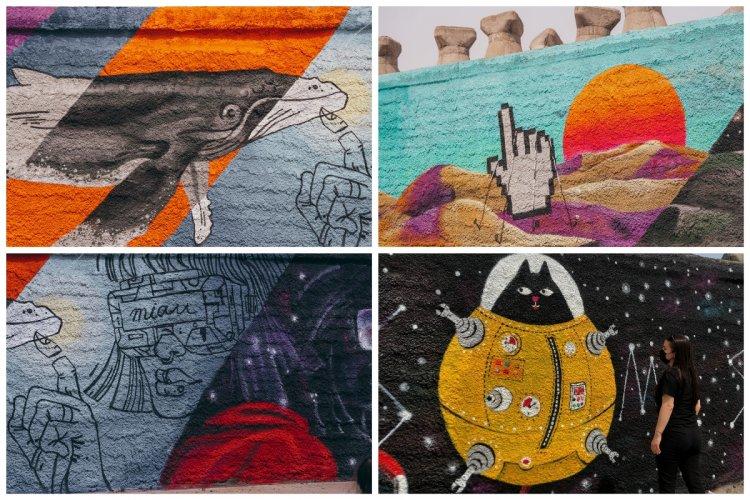 Constanța - Capitala Tineretului din România inaugurează prima galerie de artă colaborativă de la malul mării