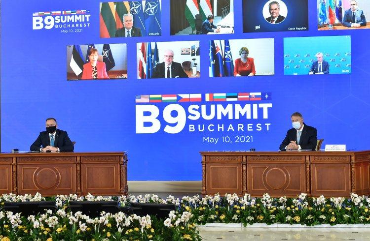 Summitul B9/Iohannis: Prezența președintelui Joe Biden transmite un puternic semnal de solidaritate