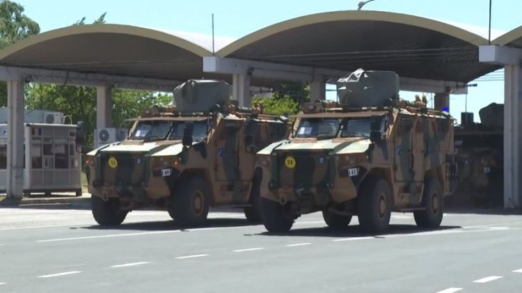 Primul convoi NATO, care va participa la Exercițiul NOBLE JUMP 2021, a sosit în România