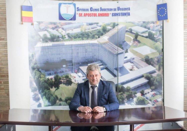 Ionuț Ionescu este noul manager interimar al Spitalului Județean Constanța