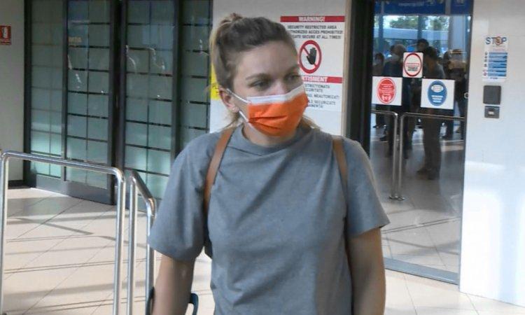 Simona Halep, la revenirea în țară: Obiectivul meu este să fiu bine la Olimpiadă
