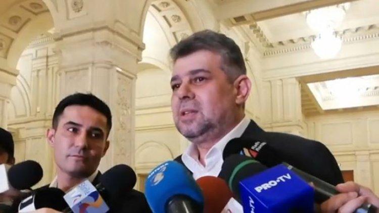 Ciolacu anunţă că PSD va participa la votul pentru învestirea Guvernului Cîţu: Vom vota împotrivă