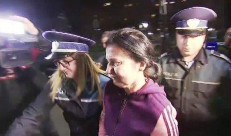 Sorina Pintea a fost dusă înapoi în Arestul Capitalei. Cum arată Sorina Pintea după câteva zile de arest