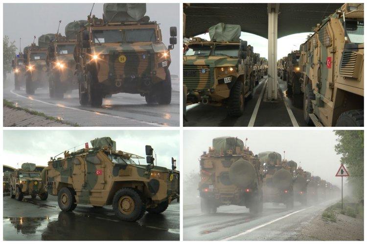 Șase convoaie ale Armatei Turciei au ajuns în România