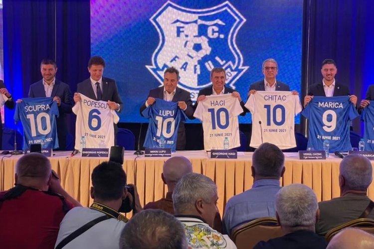 Fotbalul constănţean s-a unit azi sub un singur nume: Farul Constanţa