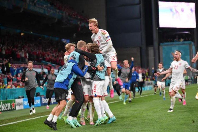 Danemarca s-a calificat în optimile de finală de la Euro 2020