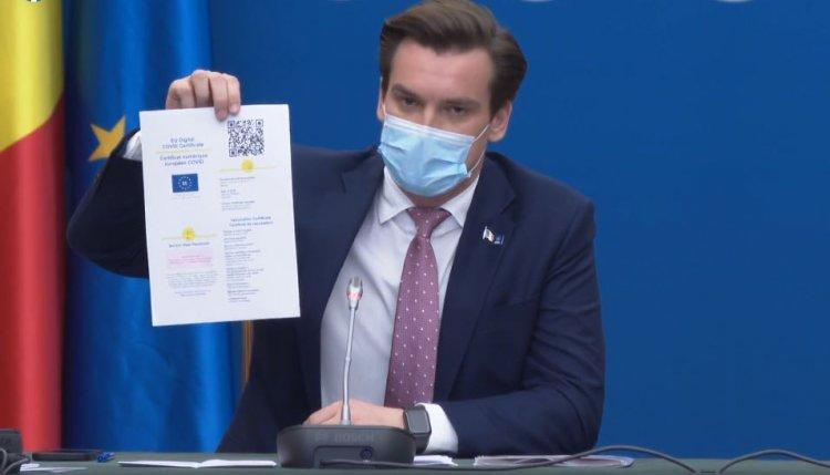Românii vor descărca certificatul verde de vaccinare de pe un portal securizat al STS