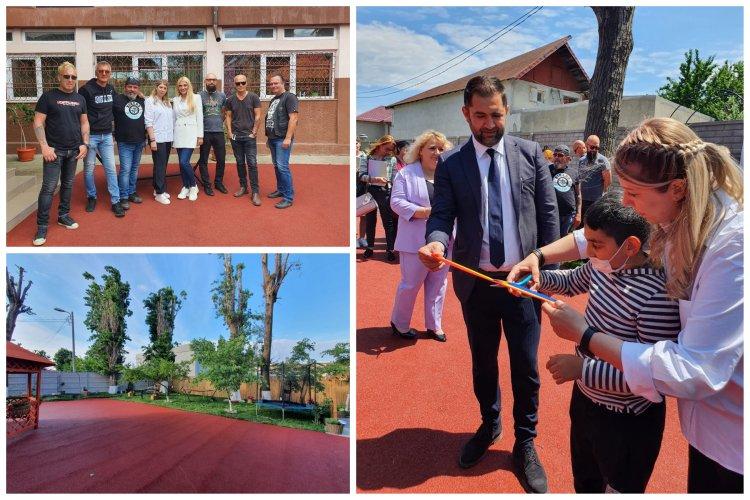Grădina Senzorială Adi Bărar a CSEI Maria Montessori, a fost inaugurată oficial