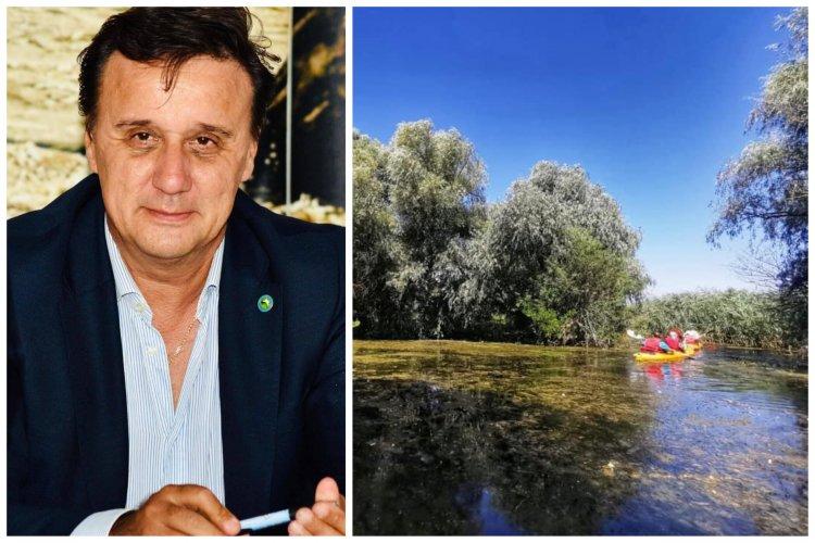 Cătălin Țibuleac: Excursiile de o zi în Delta Dunării sunt un produs turistic toxic pentru natură!