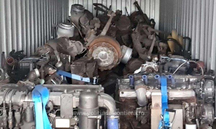 18 tone de deșeuri aduse din Belgia, găsite într-un container în Portul Constanța
