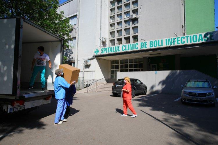 A sosit primul lot de echipamente moderne pentru Spitalul Clinic de Boli Infecțioase