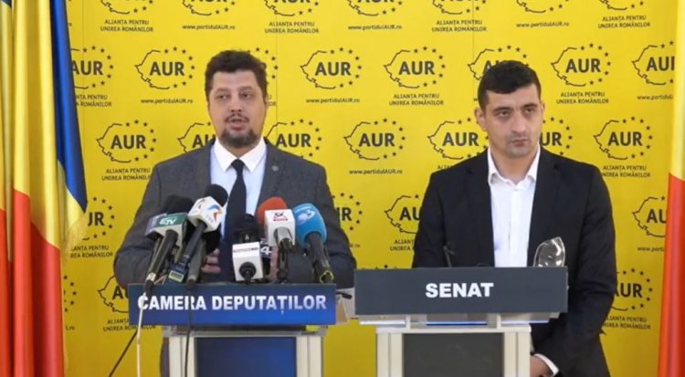 AUR solicită demisia urgentă a Guvernului pentru eșecul PNRR la Comisia Europeană