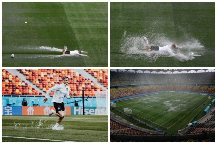 Arena Națională s-a inundat cu o zi înainte de primul meci de la EURO 2020