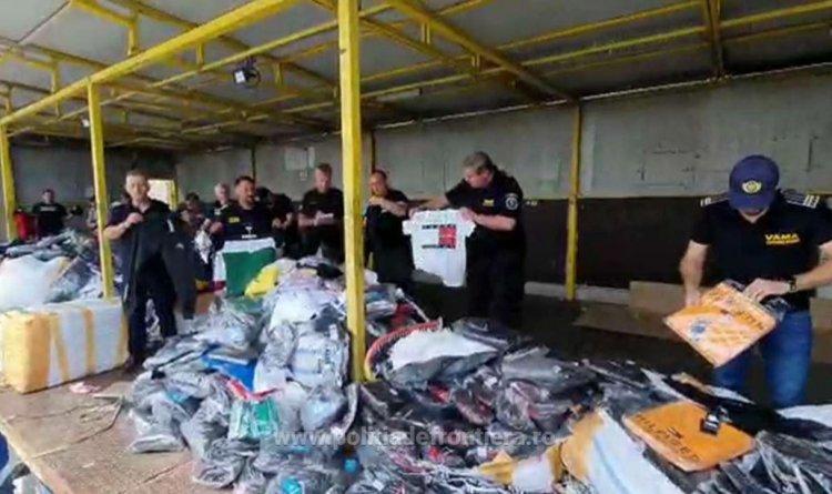Bunuri contrafăcute, în valoare de 1 milion de euro, confiscate de poliţiştii de frontieră constănțeni
