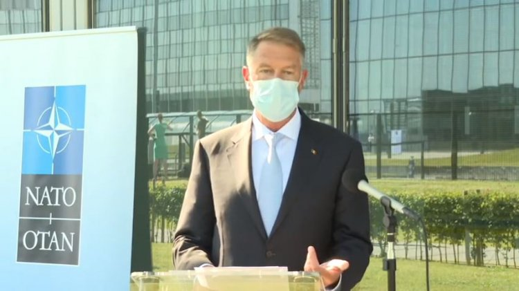 Iohannis: Scutul antirachetă are numai rol defensiv; nu intenţionăm să atacăm pe nimeni cu el