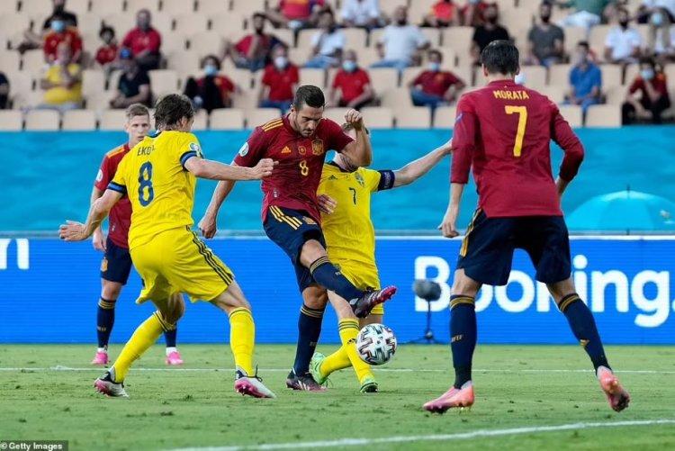 Spania, debut cu stângul la Euro contra Suediei, scor 0-0