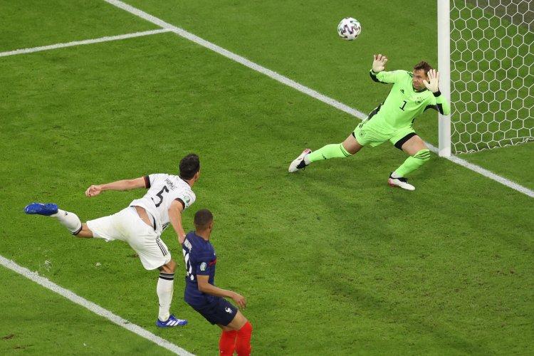 Franța câștigă primul mare meci de la Euro 2020, contra Germaniei, scor 1-0