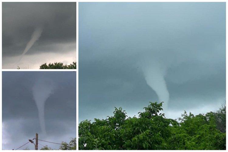 Două tornade de mici dimensiuni s-au produs în Babadag