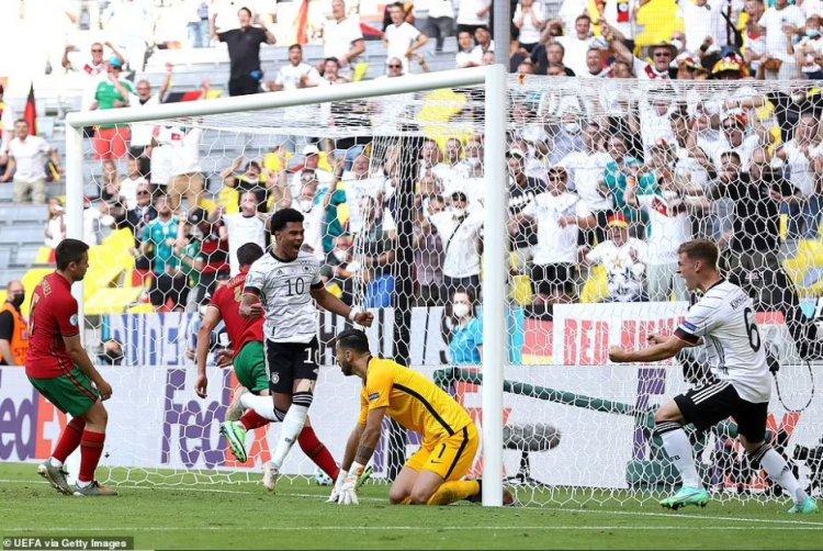 Germania a făcut instrucție cu Portugalia, scor 4-2