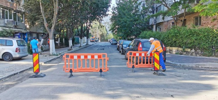 Atenție șoferi! Un tronson al străzii Unirii din Constanța, închis astăzi circulației