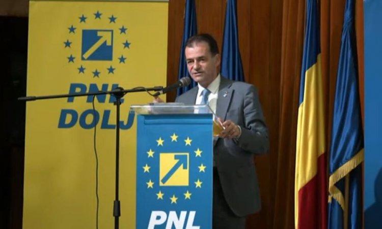 Orban către membrii PNL Dolj: Alegeţi cu mintea voastră şi aveţi încredere în mine