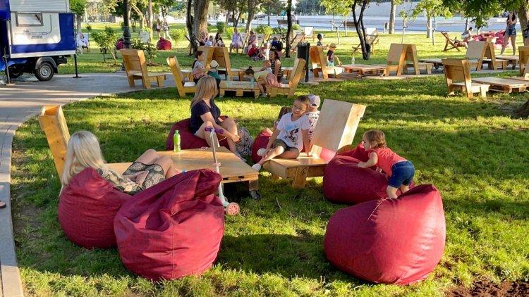 Centrul orașului se transformă într-o oază de relaxare