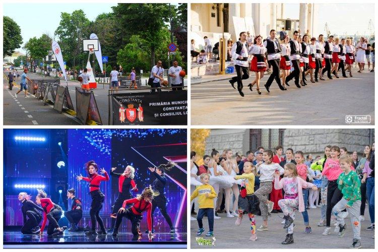 Dansul, muzica instrumentală și competițiile de minibaschet vor anima, în acest weekend centrul Constanței