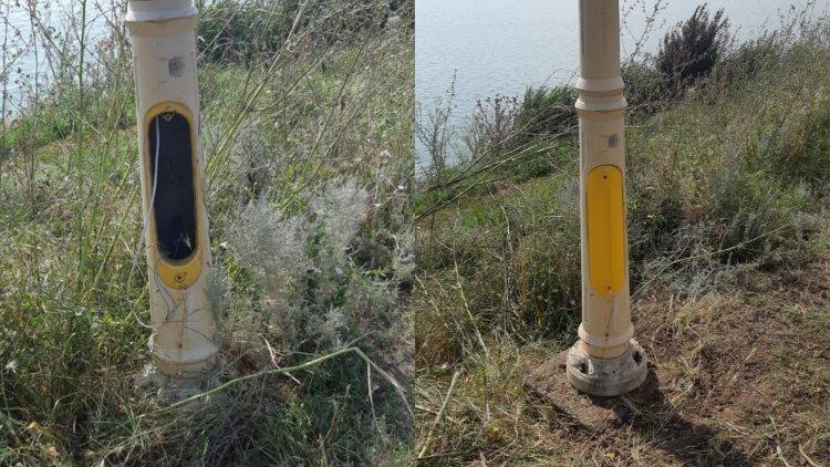 Stâlpii de iluminat din Parcul Tăbăcărie, în revizie generală