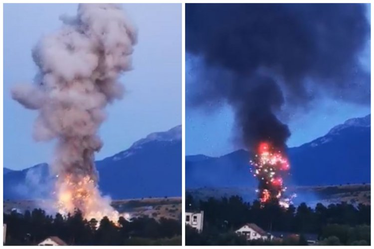 Explozie la Uzina Mecanică Tohan, unde se produc artificii. O persoană și-a pierdut viața.