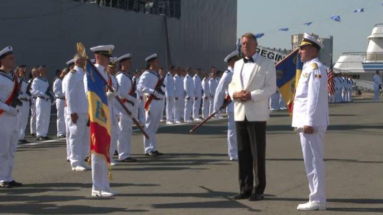 Iohannis, de Ziua Marinei: Recunoștința noastră se indreaptă spre cei care își riscă viață