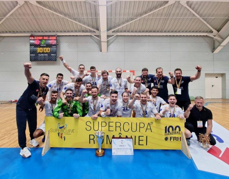 HC Dobrogea Sud a cucerit Supercupa României la handbal masculin