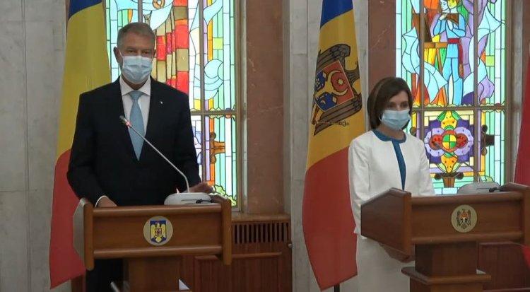 Iohannis: România a fost cel mai apropiat și cel mai sincer prieten al Republicii Moldova