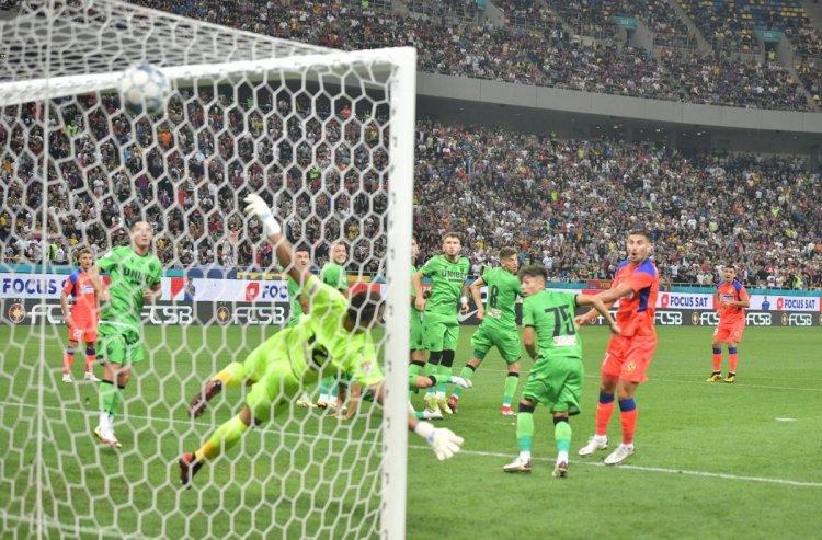 Victorie istorică pentru roș-albaștri. FCSB a surclasat-o pe Dinamo cu scorul de 6-0